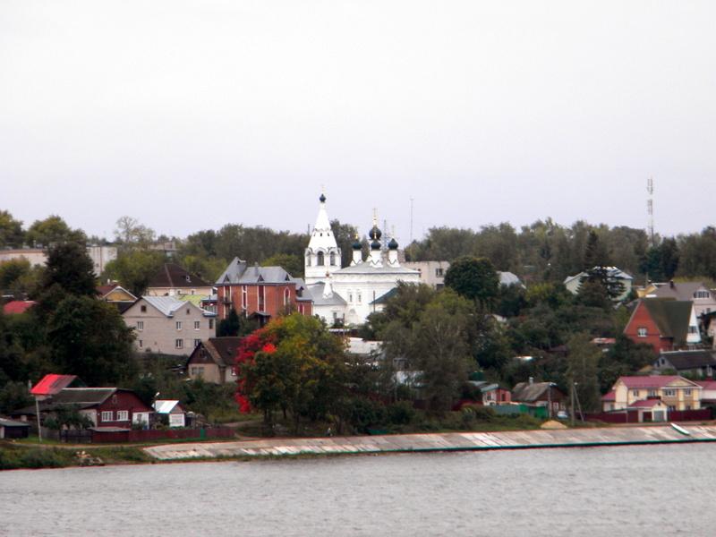 Kostroma, vue de la Volga