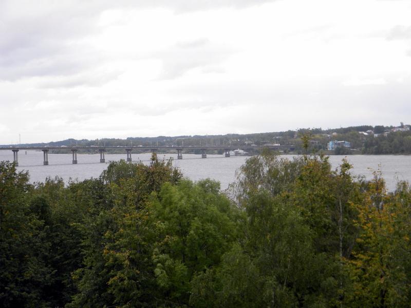 La Volga à Kostroma