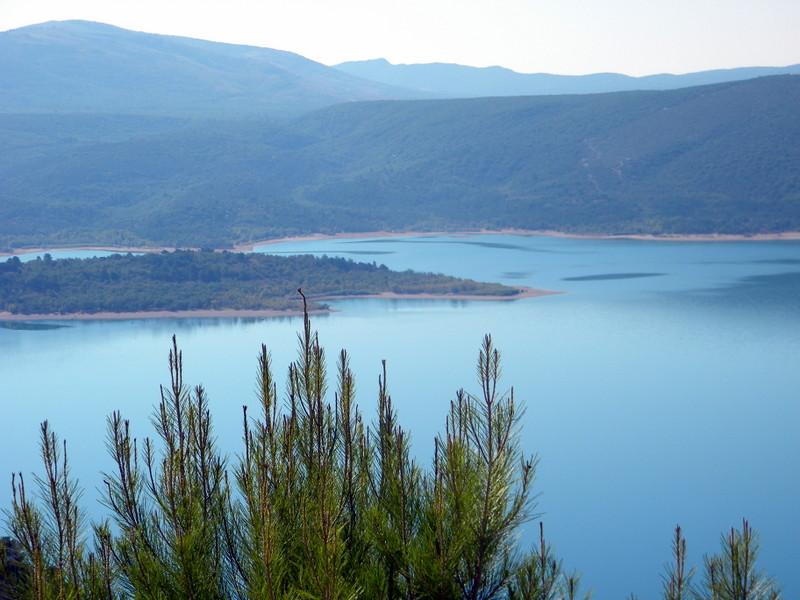 Moustiers, lac de Sainte-Croix