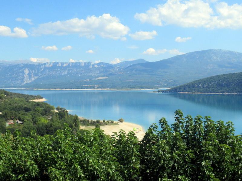 Moustiers, Verdon, Lac de Sainte-Croix, Village de Sainte-Croix-du-Verdon, restaurant Le Comptoir