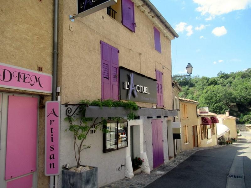 Sainte-Croix-du-Verdon, Restaurant L'Actuel