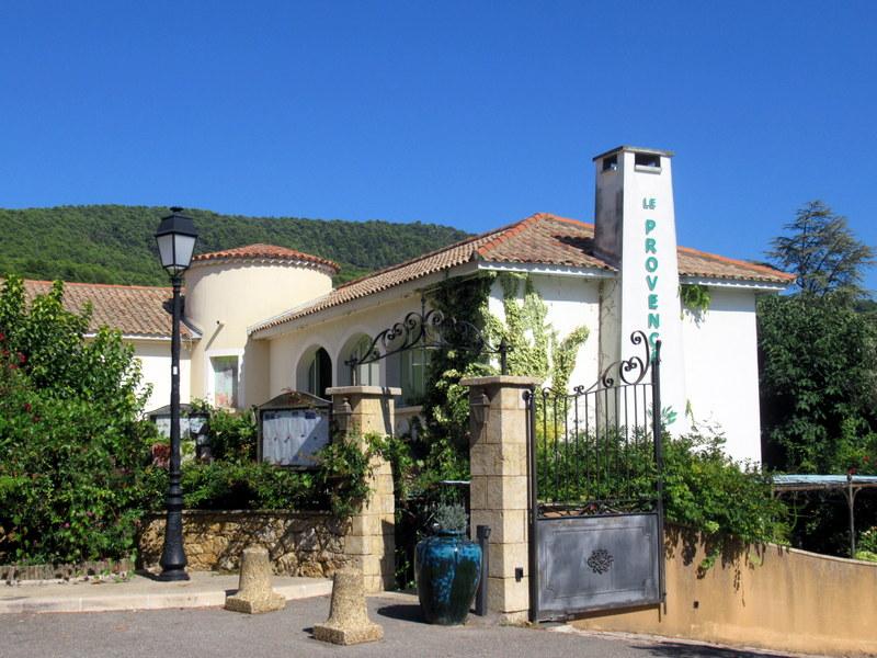 Aups, restaurant Le Provençal