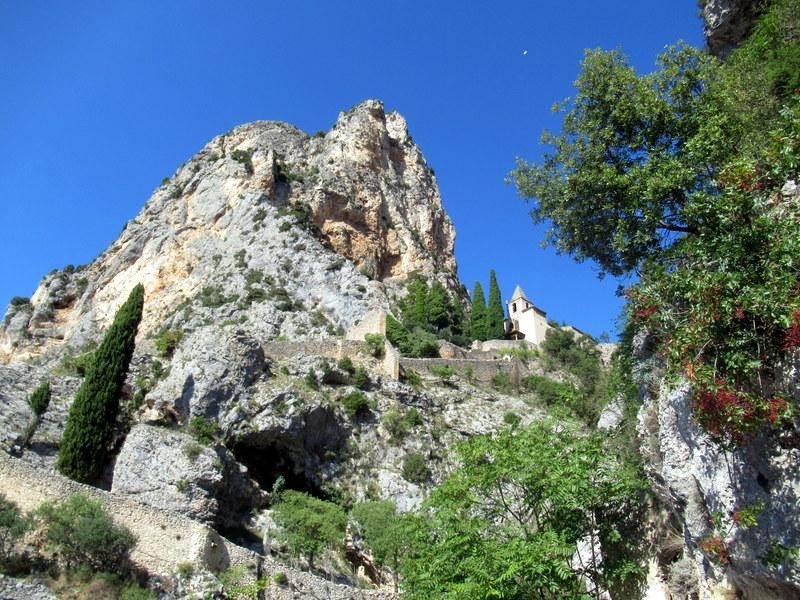 Chapelle Notre-Dame de Beauvoir. Alpes de Haute-Provence, Moustiers-Sainte-Marie