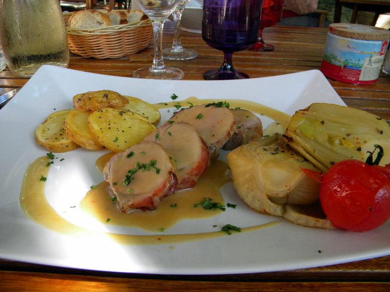 Tourtour, Relais Saint-Denis, filet mignon au fenouil confit