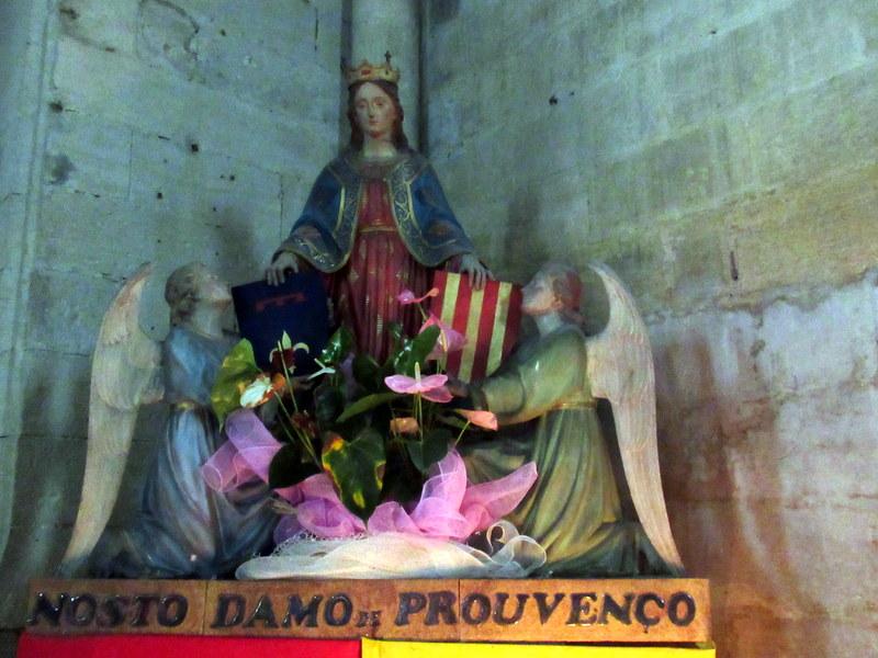 Forcalquier, église, Notre-Dame de Provence