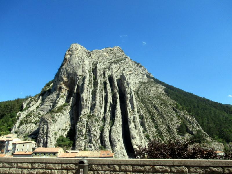 Sisteron, le rocher de la Baume
