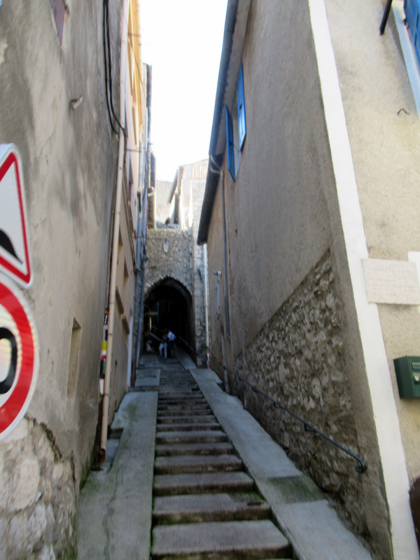 Sisteron, une androne