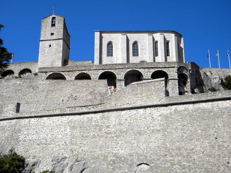 Sisteron, la citadelle et sa chapelle