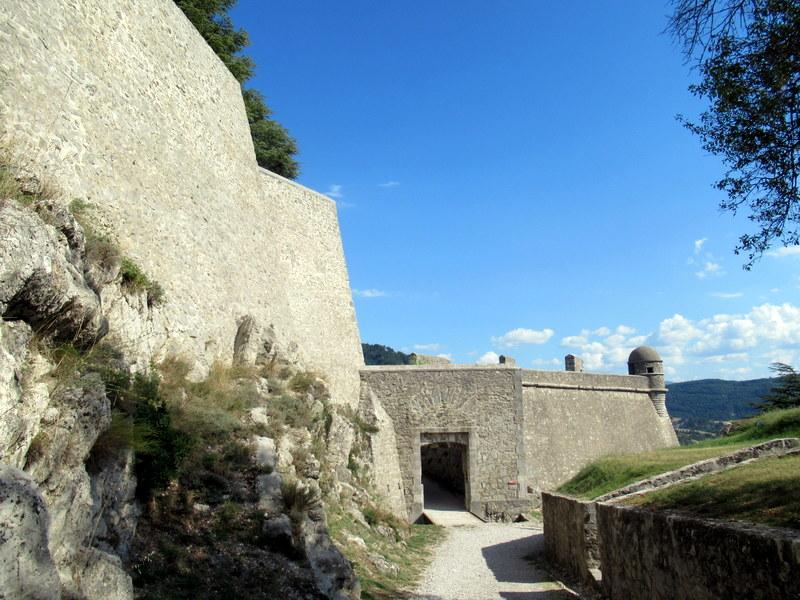 Sisteron, la citadelle, un bastion