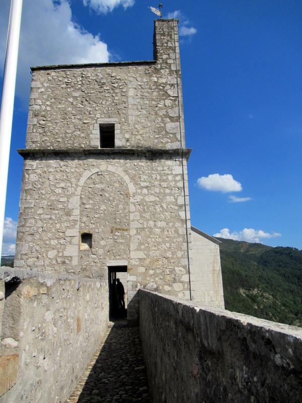 Sisteron, la citadelle, le chemin de ronde