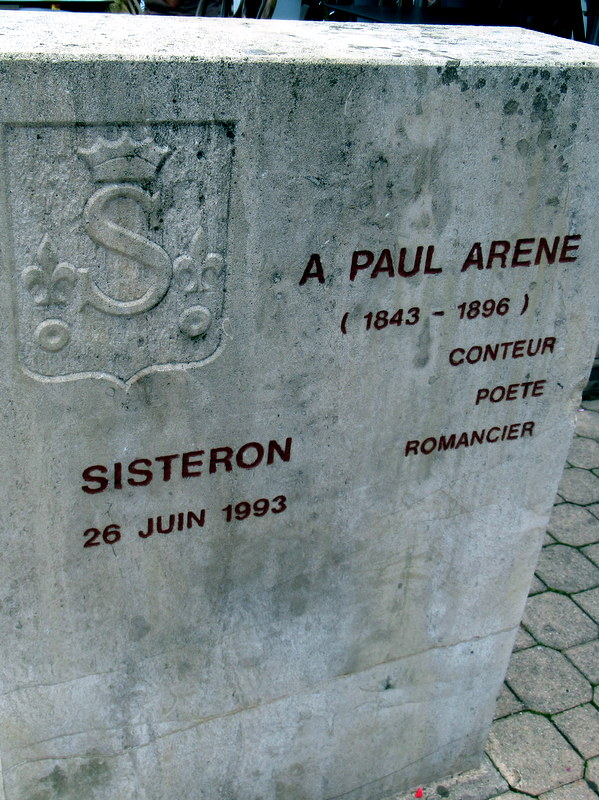 Sisteron, Paul Arène