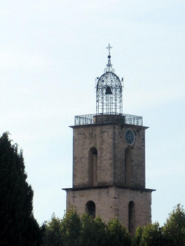 Manosque, église Saint-Sauveur, campanile très ouvragé