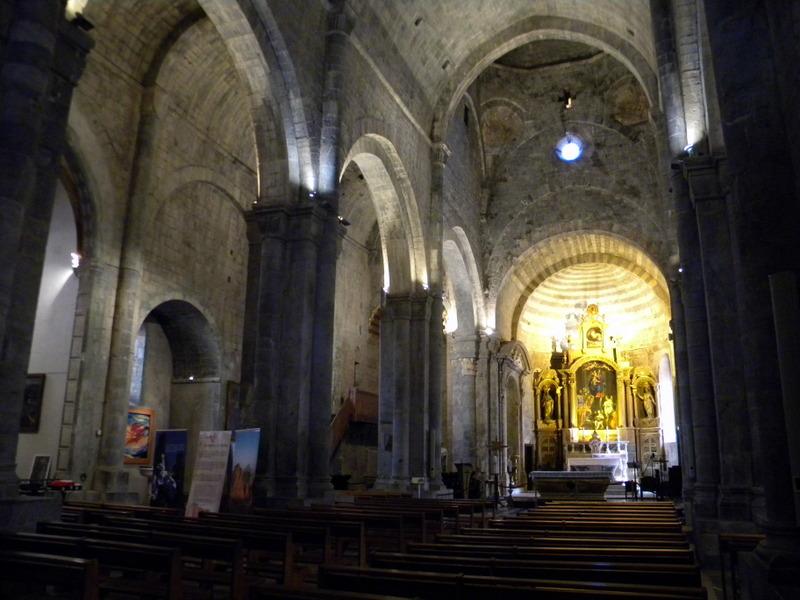 Alpes de Haute-Provence, Sisteron, Notre-Dame des Pommiers, la nef