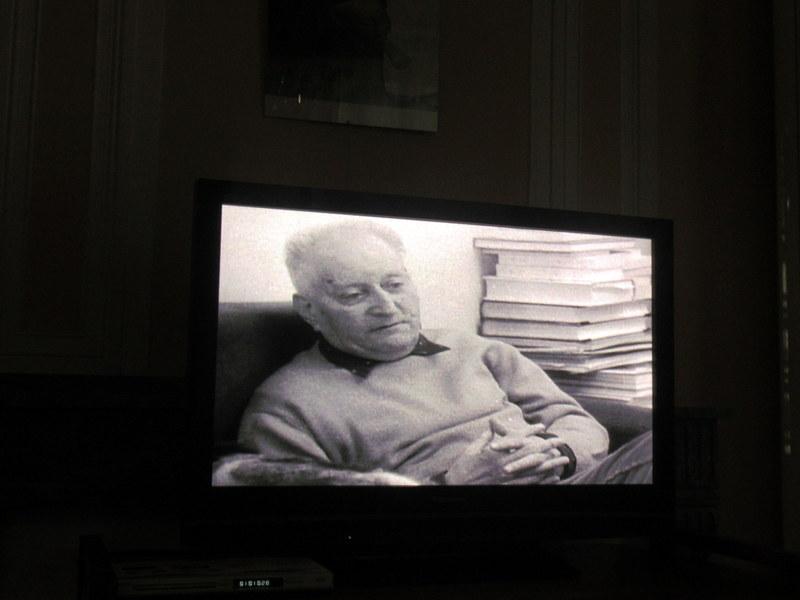 Manosque, portrait de Giono âgé