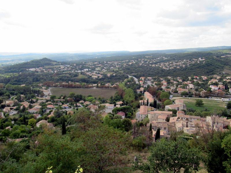 Forcalquier, vue panoramique depuis la citadelle