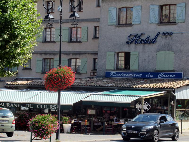 Sisteron, Restaurant du Cours