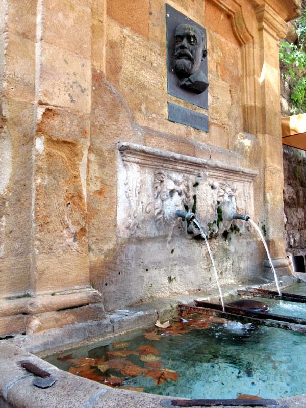 Aix-en-Provence, fontaine d'Espéluque, Marcel Provence