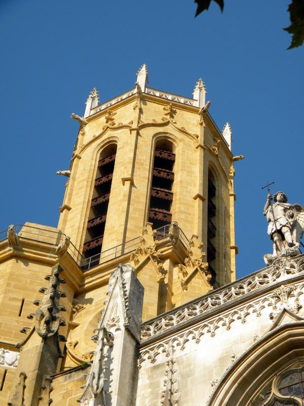 Aix-en-Provence, cathédrale Saint-Sauveur, tour octogonale