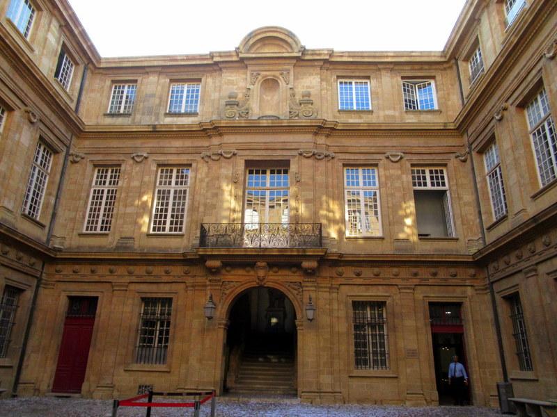 Aix-en-Provence, l'Hôtel de Ville