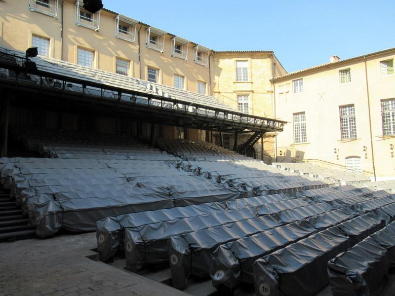 Aix-en-Provence, cour de l'Archevêché, festival de musique classique