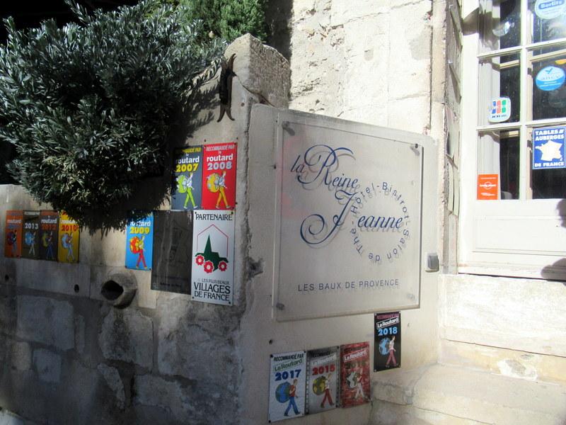 Les Baux de Provence, bistrot La Reine Jeanne
