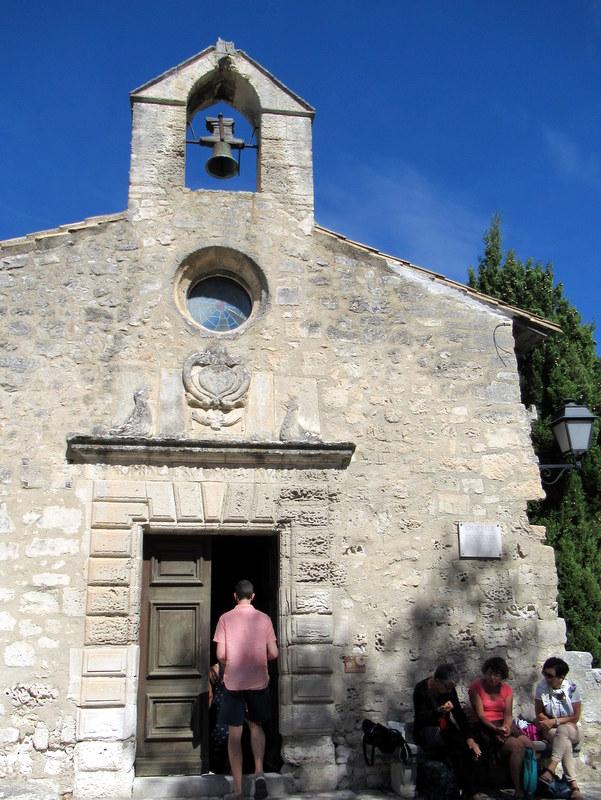 Les Baux de Provence, chapelle des Pénitents Blancs