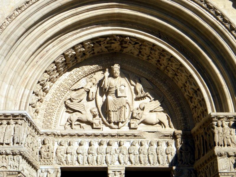 Arles, portail de Saint-Trophyme