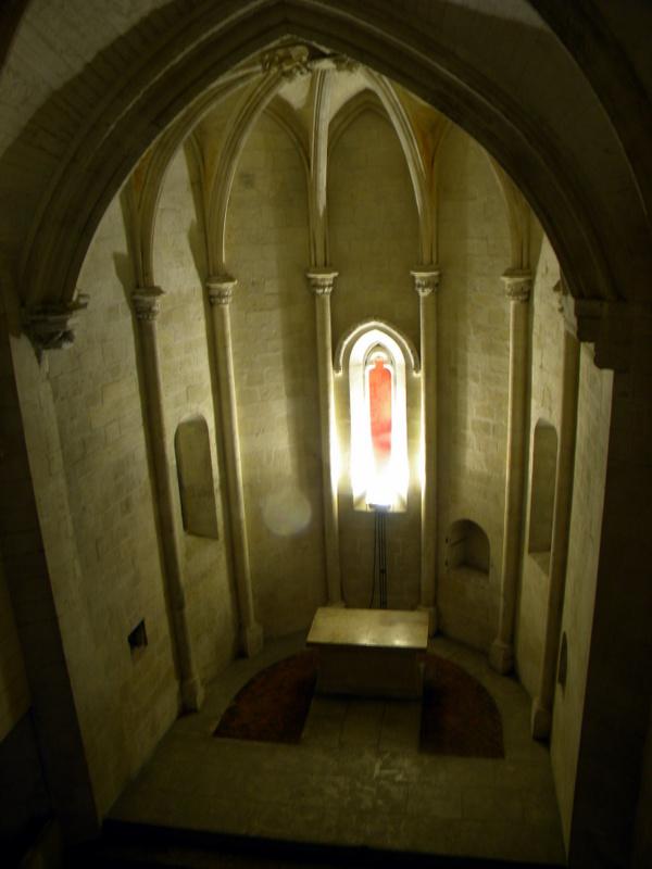 Tarascon, le château, la chapelle