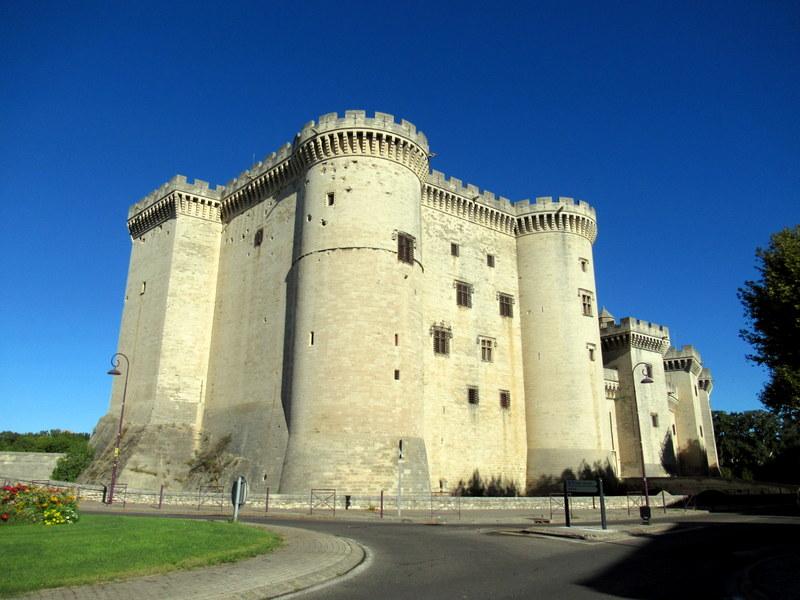 Tarascon, château de Tarascon vue extérieure