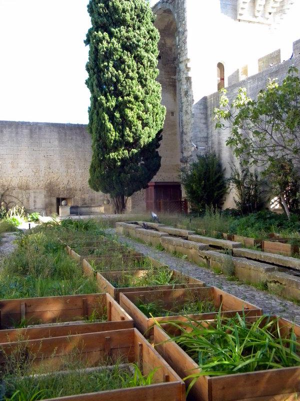 Château de Tarascon, jardin médiéval