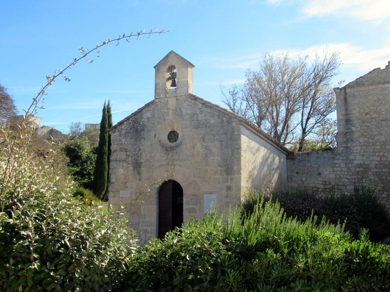Les Baux de Provence, chapelle Saint-Blaise