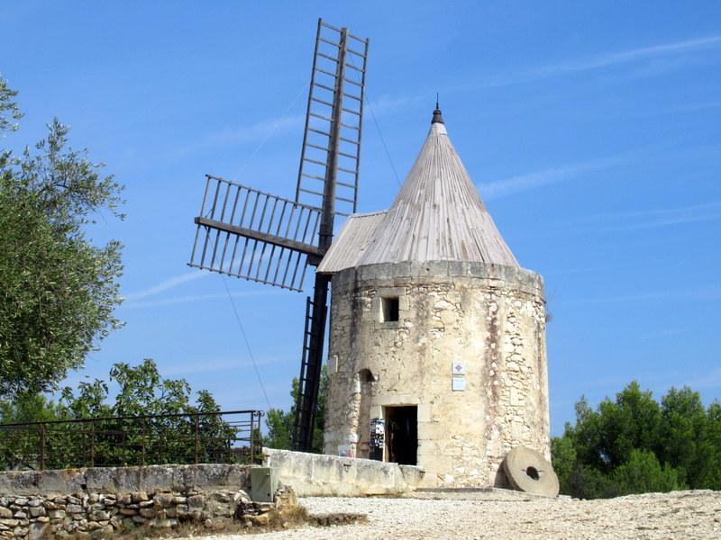 Provence, Fontvieille, le moulin de Daudet