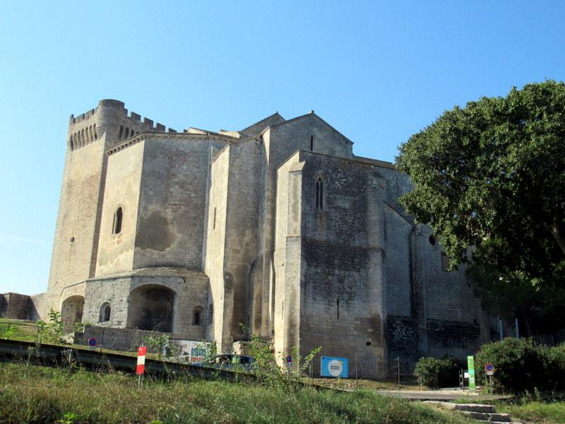 Provence, abbaye de Montmajour