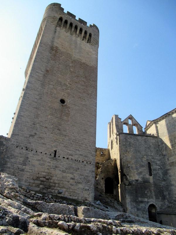 Provence, abbaye de Montmajour, tour de l'abbé