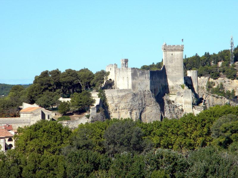Tarascon, vue du château de Beaucaire