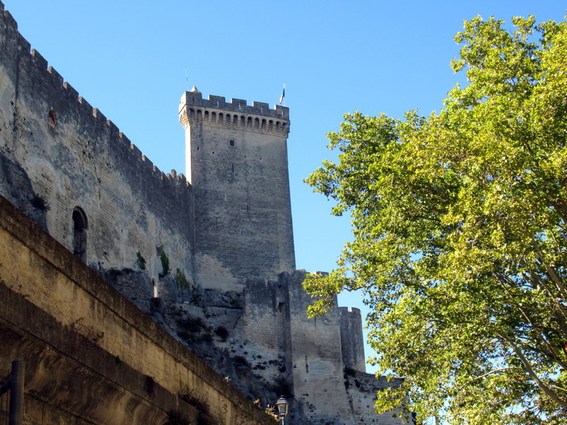 Beaucaire, le château