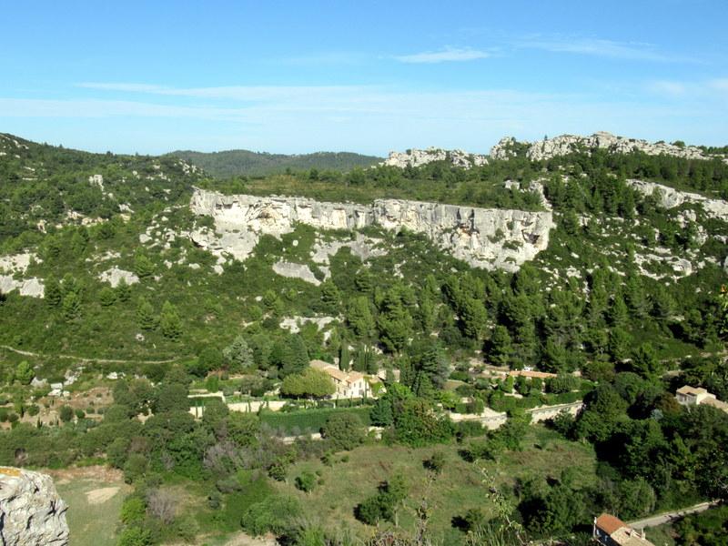 Les Baux de Provence, vallon de la Fontaine