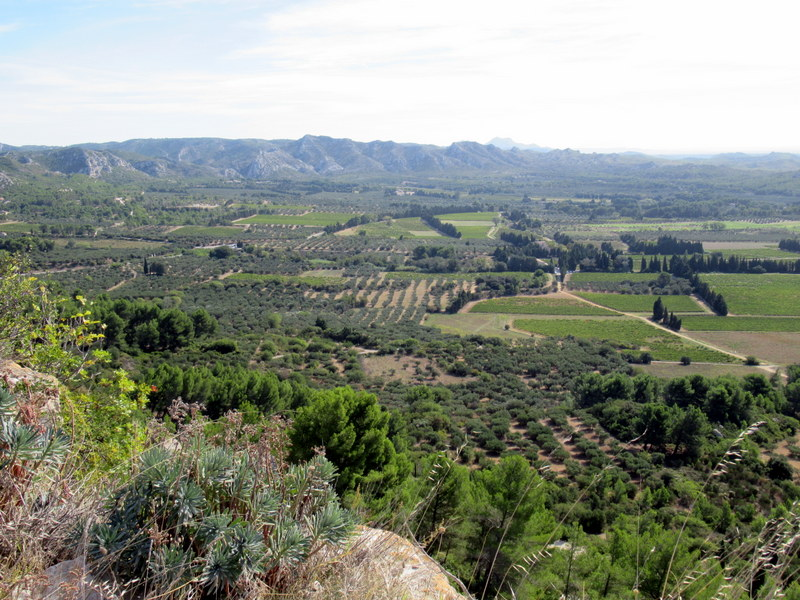 Panorama vers l'est vu depuis la citadelle