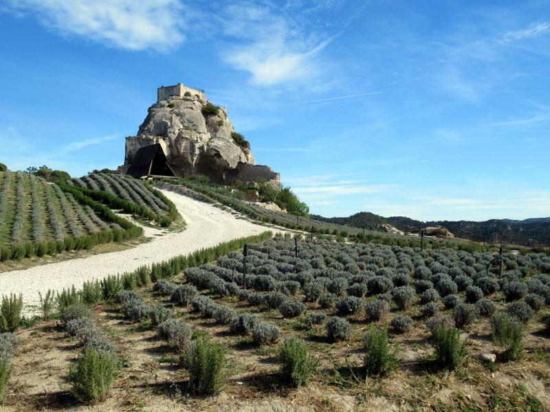 Les Baux de Provence, citadelle