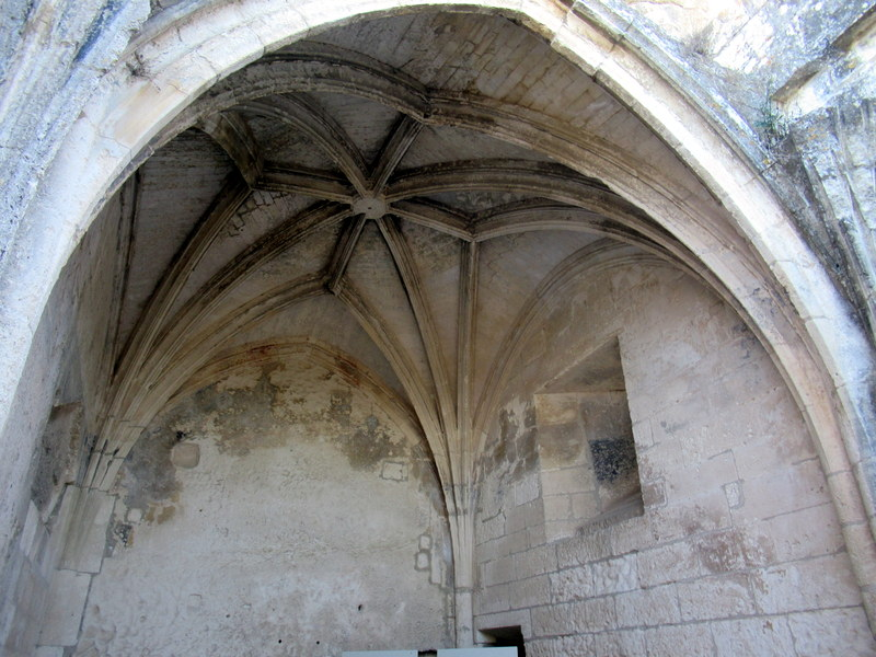 Les Baux de Provence, Citadelle, chapelle castrale
