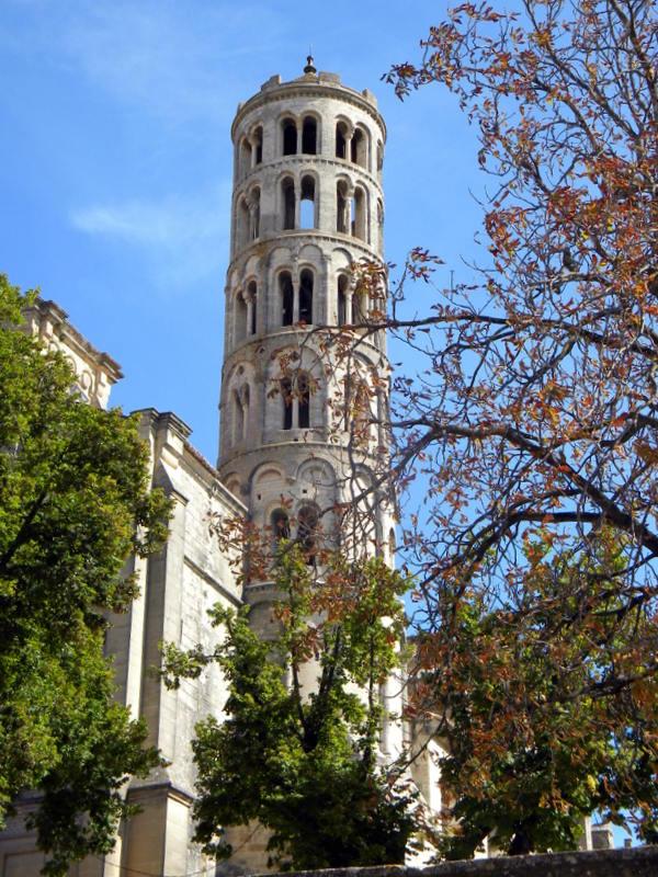 Uzès, cathédrale Saint-Théodorit, tour Fénestrelle