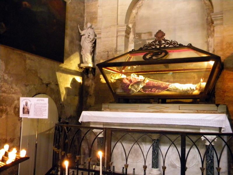 Uzès, cathédrale Saint-Théodorit, châsse de saint Firmin