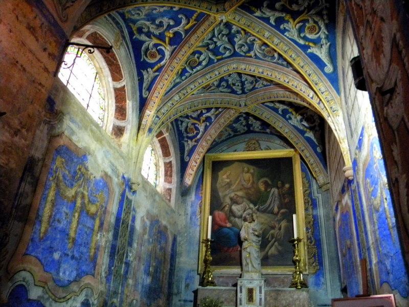 Uzès, cathédrale Saint-Théodorit, fresques