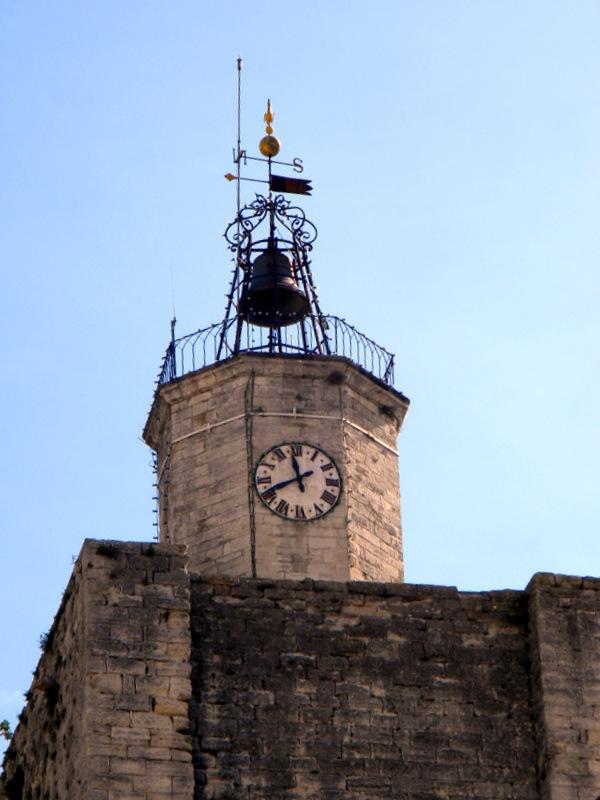 Uzès, Tour de l'Horloge, campanile