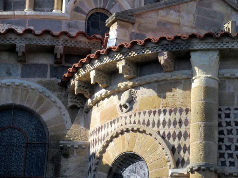 Issoire, abbatiale Saint-Austremoine, chevet