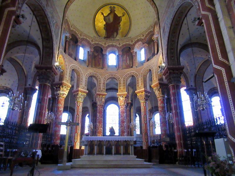 Issoire, abbatiale Saint-Austremoine, le chœur