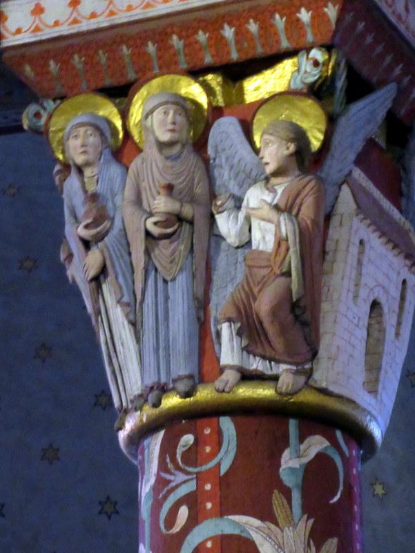 Issoire, Abbatiale Saint-Austremoine, chapiteau