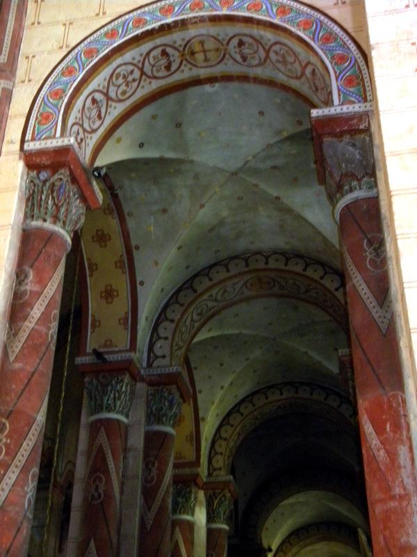 Issoire, abbatiale Saint-Austremoine, bas-côtés